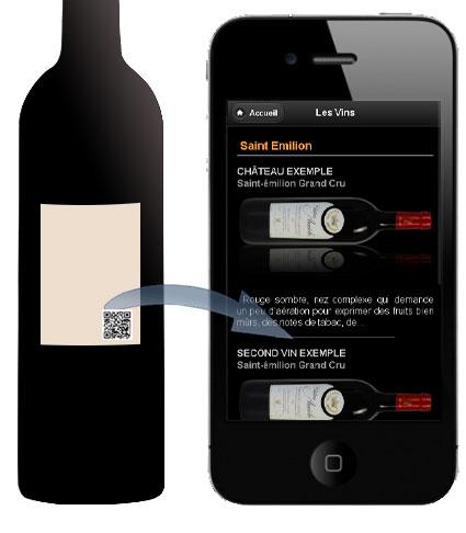 contact copy2d pour application mobile ou authentification des vins qr code tiquette de vins. Black Bedroom Furniture Sets. Home Design Ideas